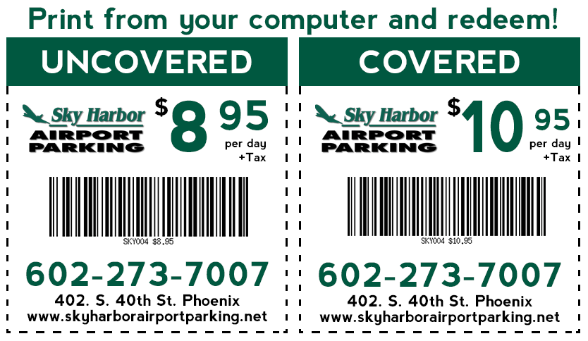 How Much Are Airport Parking Coupons?