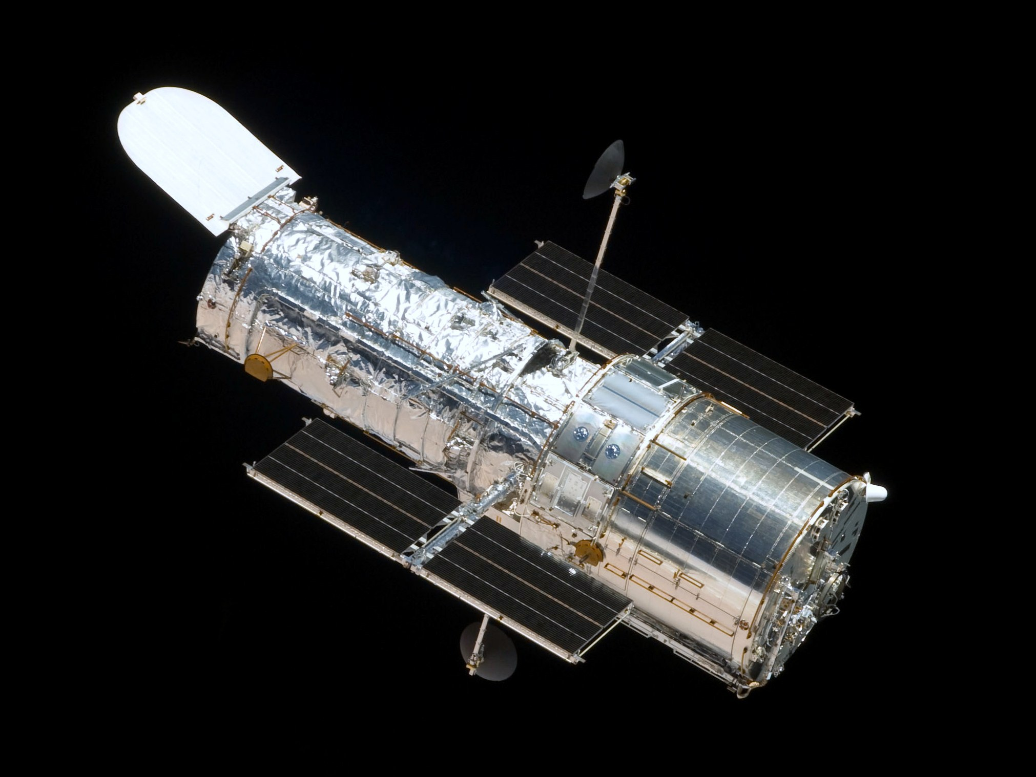 How much did the Hubble space telescope cost?