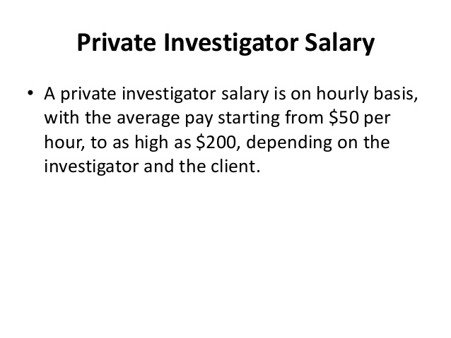 How Much Do Private Investigators Make?